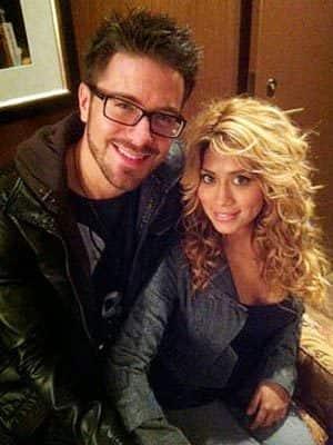 Danny Gokey and Leyicet Peralta
