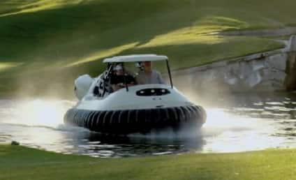Bubba Watson Hovercraft: The Golf Cart of the Future!