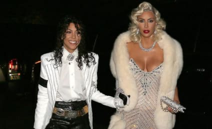 Kourtney Kardashian Dresses Like Michael Jackson, Earns Internet Ire