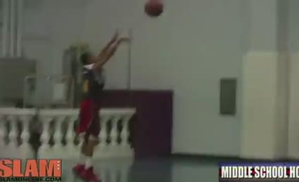 Sixth-Grader LIGHTS UP High School Basketball Competition