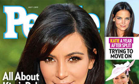 Kim Kardashian Baby People Cover