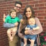 Jessa Duggar & Family on Easter Morning
