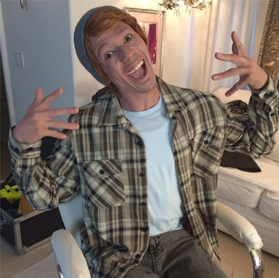 Nick Cannon White Face Photo