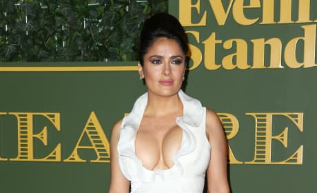 Salma Hayek: 2015 Evening Standard Awards