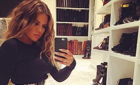 Khloe Kardashian, Waist