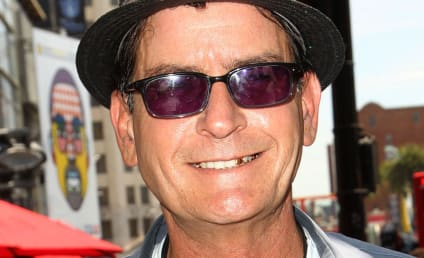 Did Charlie Sheen Threaten to Blow Someone's Head Off?