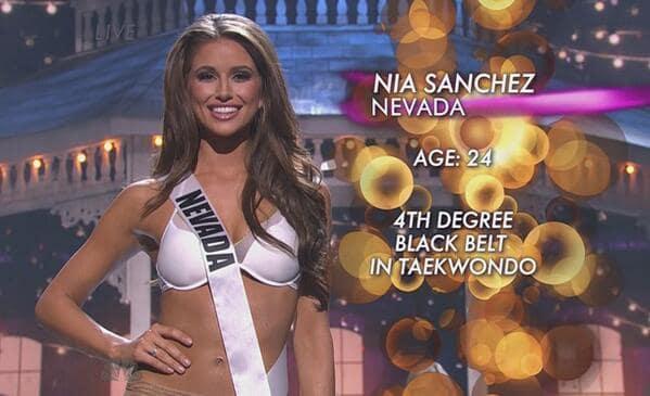 Nia Sanchez Miss USA Pic