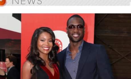 Dwyane Wade Fathers Child on Break From Gabrielle Union