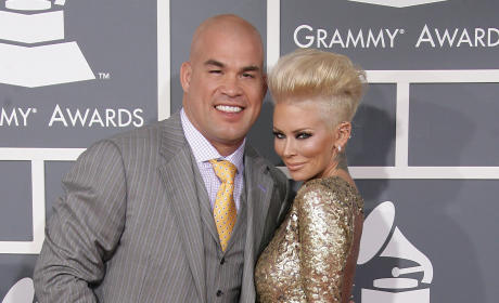 Tito Ortiz and Jenna Jameson: 2013 Grammy Awards