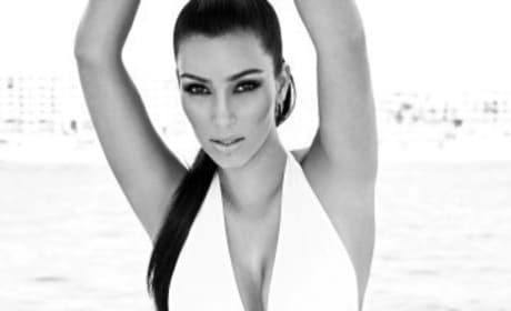 Kim Kardashian in White