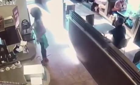 Angry Tim Hortons Customer Drops Giant Deuce Right There on the Floor, Hurls Feces at Staff