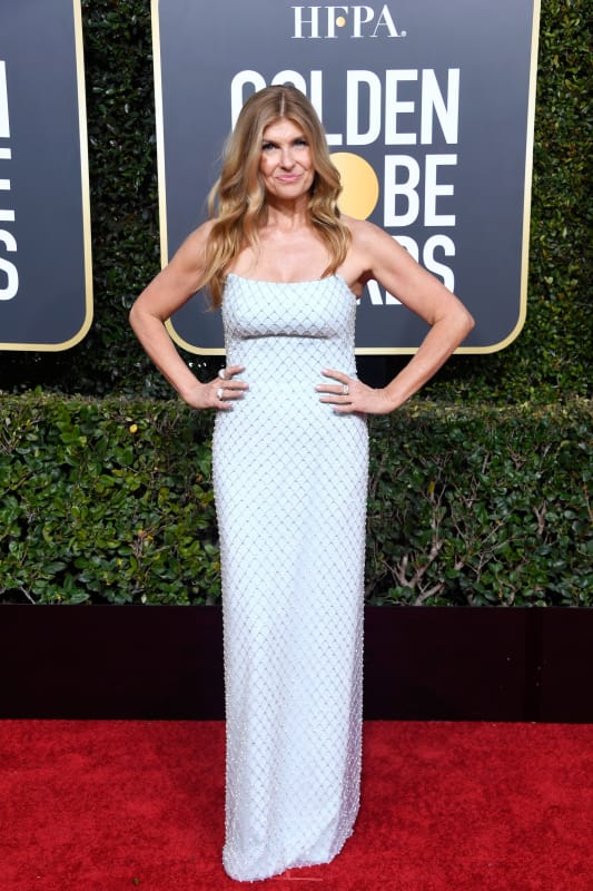 Connie britton at the globes