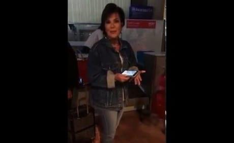 Kim Kardashian Hides Kris Jenner's Phone, Kris Freaks Out