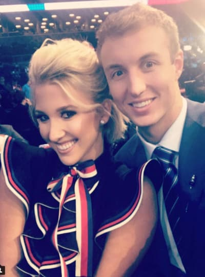 Savannah Chrisley and Luke Kennard