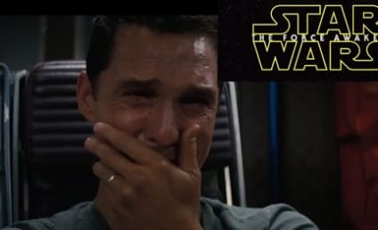 Matthew McConaughey Watches Star Wars Trailer, Experiences All the Feels
