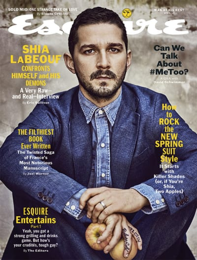 Shia LaBeouf on Esquire
