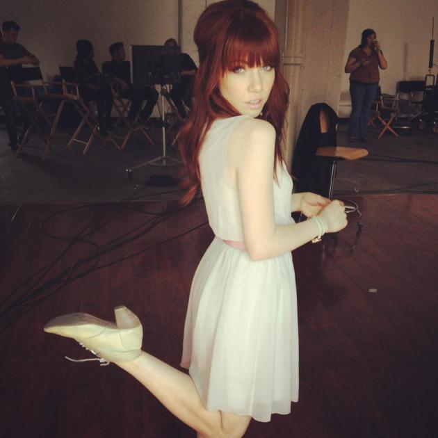 Carly Rae Jepsen Red Hair