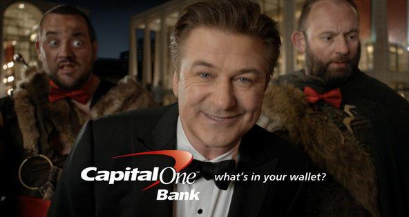 Alec Baldwin Capital One Ad