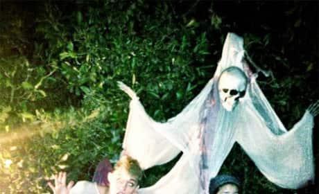 Miley Cyrus Halloween Pic
