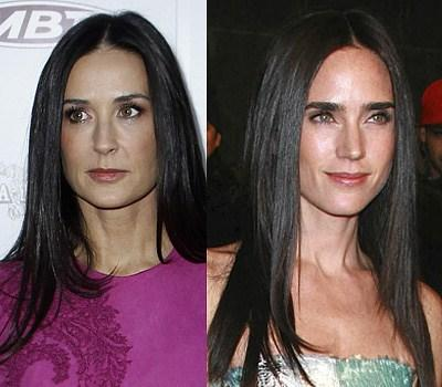 Demi Moore and Jennifer Connelly