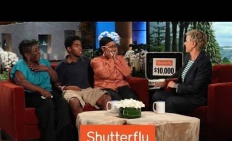 Ellen DeGeneres Gives Coworkers Cash And A Car