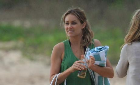 Lauren Conrad in Hawaii