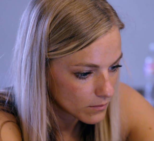 Mackenzie mckee looks sad