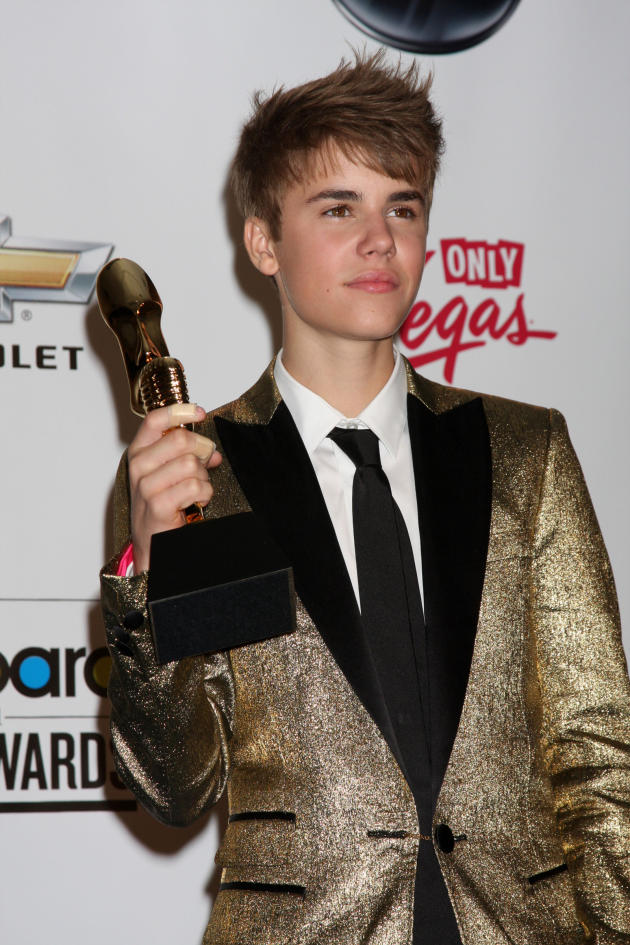 Justin Bieber at the Billboard Music Awards