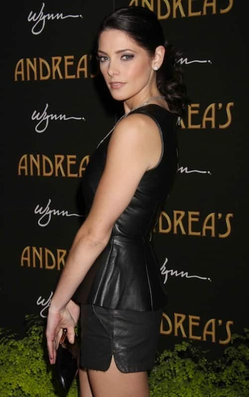 Ashley Greene in Black