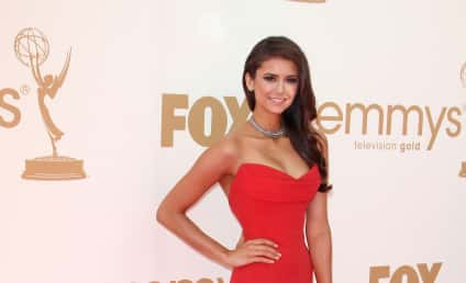 Emmy Awards Fashion Face-Off: Nina Dobrev vs. Lea Michele
