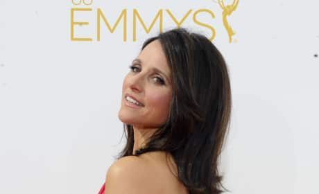 Julia Louis-Dreyfus at the 2014 Emmys