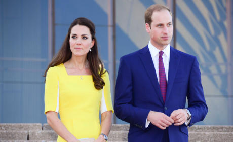 Kate Middleton With Prince William Image