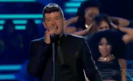 Flo Rida and Robin Thicke Wrap Up the Teen Choice Awards