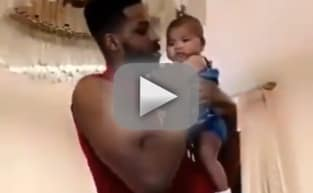 Tristan Thompson Dances with True in Sweet Daddy-Daughter Video!
