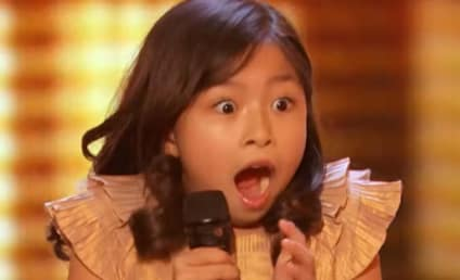 Cutest 9-Year Old EVER Earns Golden Buzzer on AGT