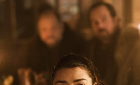 Arya Looking Sinister
