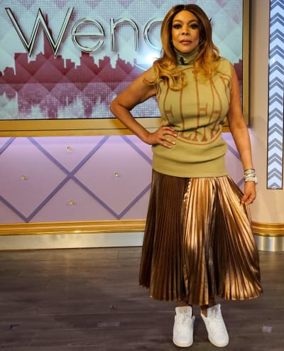Wendy Williams on a Set