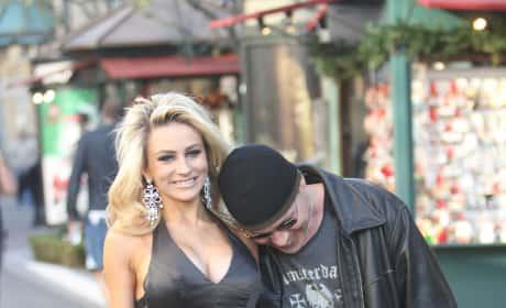 Doug Hutchison and Courtney Stodden Paparazzi Pic