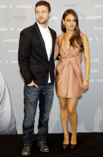 Mila Kunis, Justin Timberlake Photo