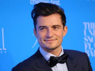 Orlando Bloom: 2015 UNICEF Snowflake Ball