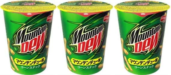 Mountain Dew Cheetos