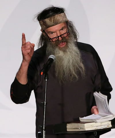 Phil Robertson, Bible