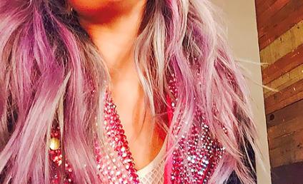 Hilary Duff Hair Affair: Pink vs. Blue!