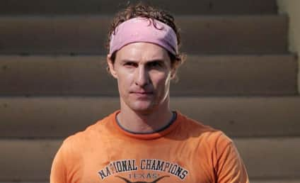 Matthew McConaughey, Lance Armstrong Cycle and Drink