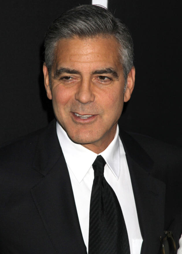 George Clooney at Gravity Premiere