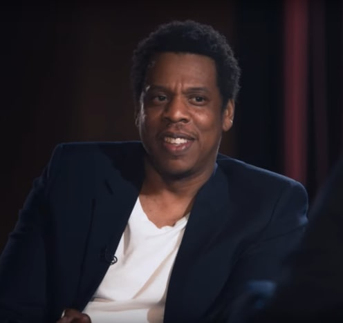 Jay-Z Smiles on Netflix