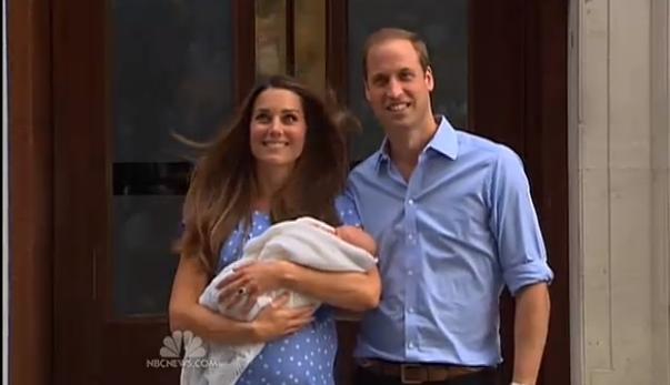 Kate Middleton, Baby