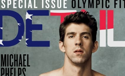 Michael Phelps Details Cover: Shirtless, Ripped!