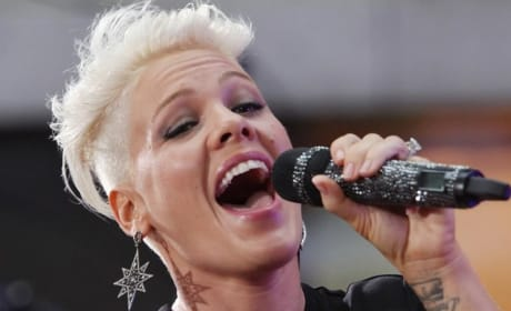 Pink Scoffs at Gaga, Miley