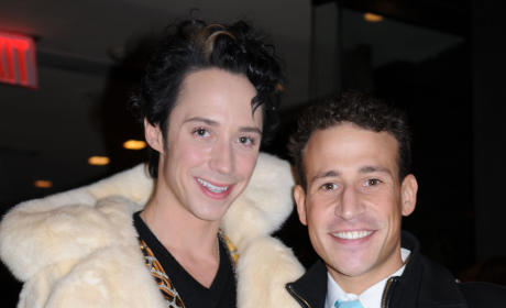 Johnny Weir and Victor Voronov Photo